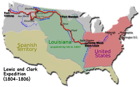 Geography The Louisiana Purchase - Pics of us map after the louisiana purchase